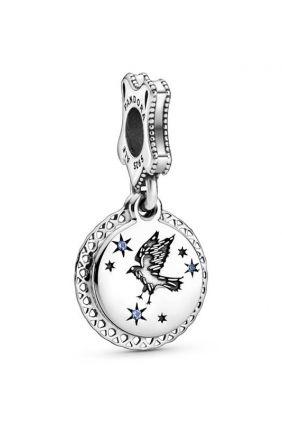 Pandora Charm plata Hufflepuff