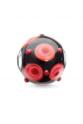 Bead rojo, negro, rosa, naranja  Thomas Sabo Karma beads