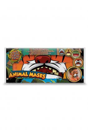 Mascarilla infantil reutilizable Animal Mask León