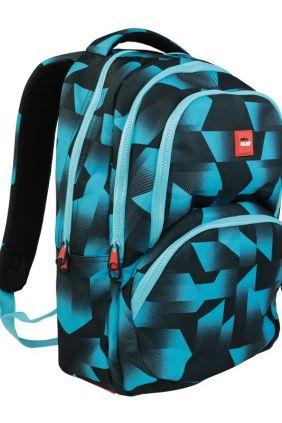 Comprar Mochilas Escolares Fusión de Milan Azul y Negra