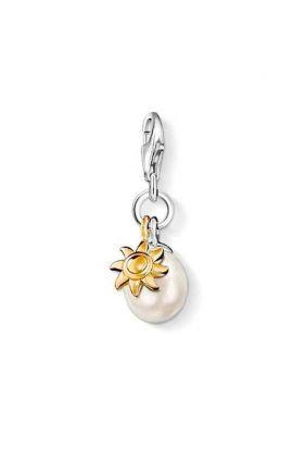 Oferta Charm - Avalorio perla con sol Thomas Sabo 0925