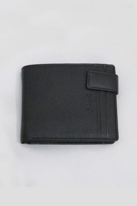 Billetero piel Adapell Lines negro 1503