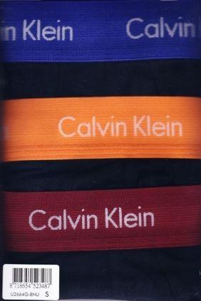 Pack 3 Boxers Calvin Klein Negros Económicos