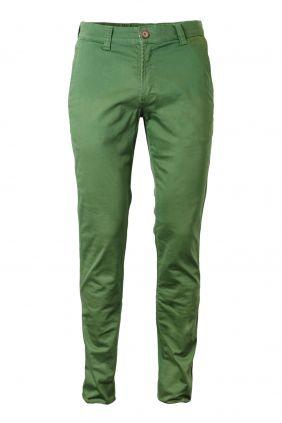 comprar online Pantalón chino verde hombre Yellow Skin