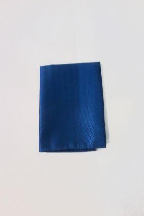 Pañuelo decorativo liso Azul Marco Valenti