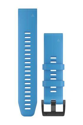 Pulsera Garmin Silicona azul cian QuickFit® 22