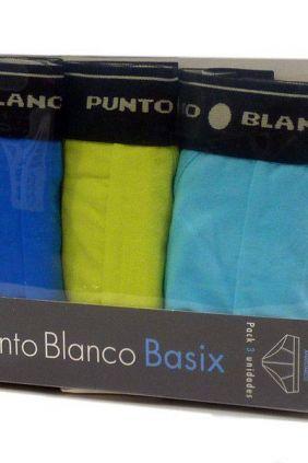 Comprar online Pack de 3 boxers Punto Blanco Basix AAA