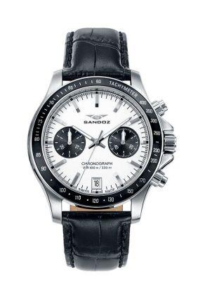 Reloj Sandoz 81405-07 swiss made cronógrafo hombre