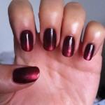 manicura rubi metalizado