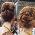 peinados coleta alta
