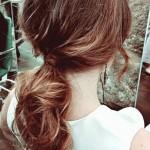 peinados coleta baja