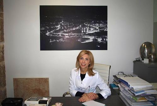 Marisol Lopez en consulta clinica Aurimed