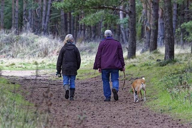 ejercicio personas caminando