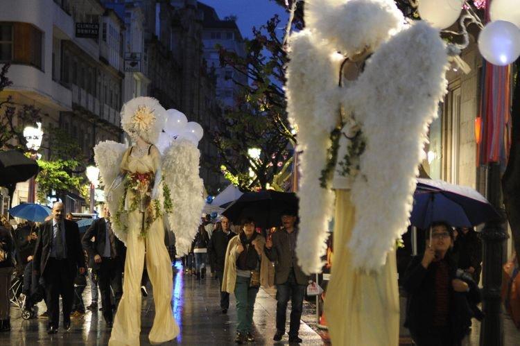 Shopping nigth Ourense animacion calle