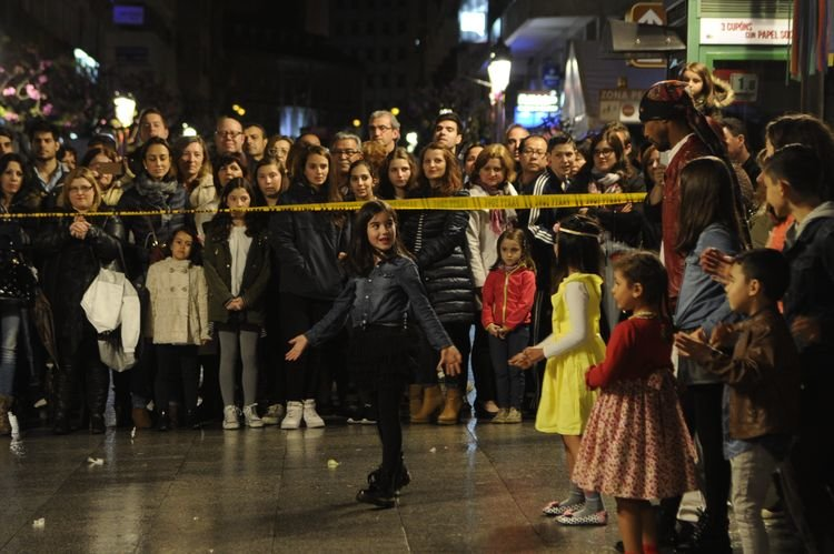Shopping nigth Ourense flah mob