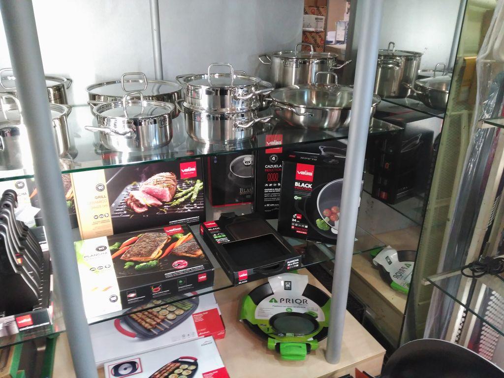 En Electrodomésticos Aragonés también encontramos una amplia variedad de artículos de menaje.