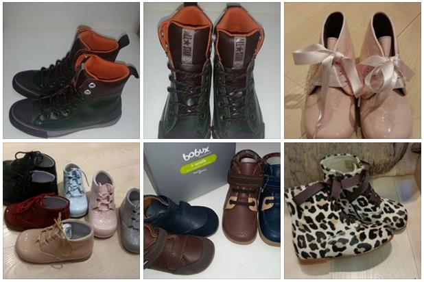 zapatos infantil en Pasiños
