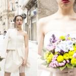 """""""Voda á vista"""", colección NafNaf de noivas por 200 euros ou menos, en Belinda"""