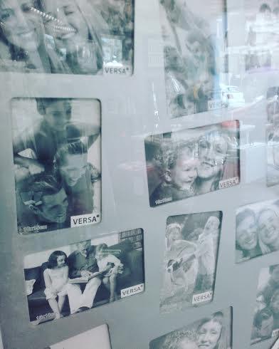 estos ejemplos de multifotos para hace collage los encontramos en Agosan Arte y decoración