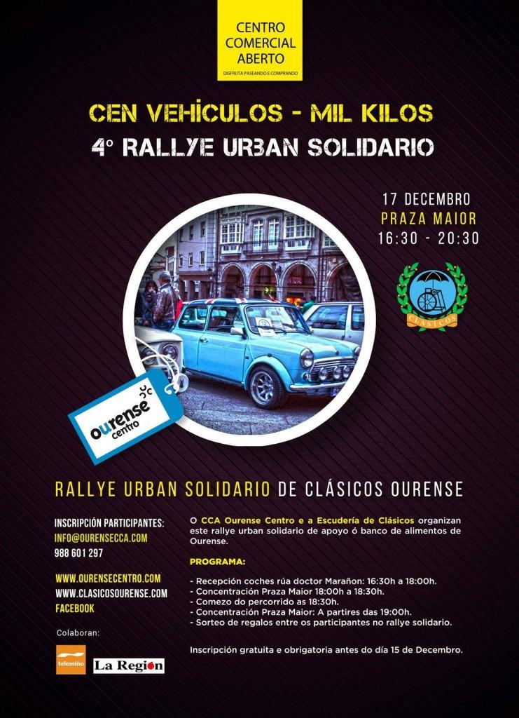 rallye solidario ourense centro
