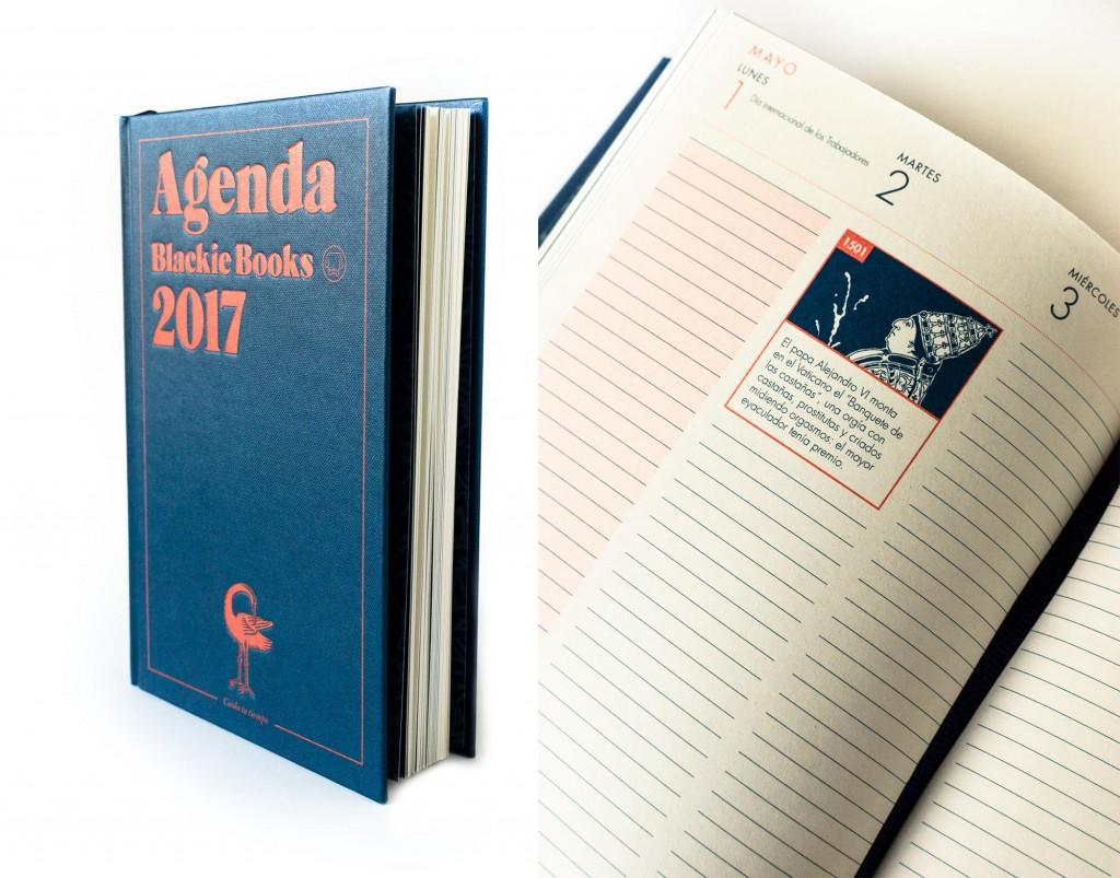Agenda Blackie Books - Blackie Books (Librería Queixumes