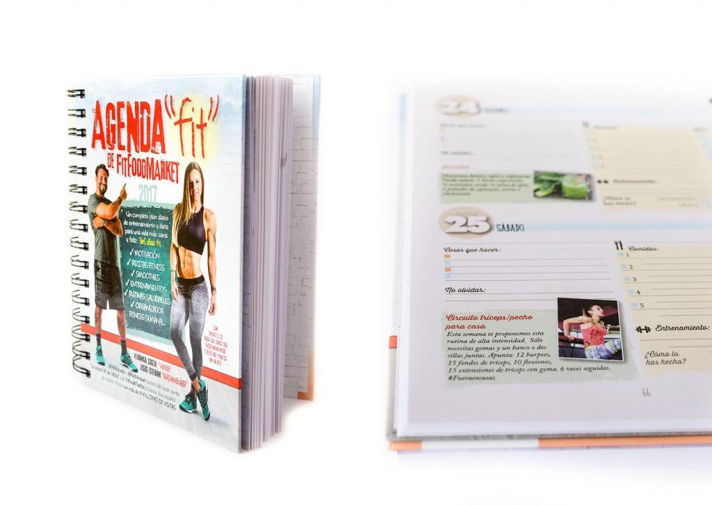 Agenda Fitness - Arcopress (Librería La Viuda