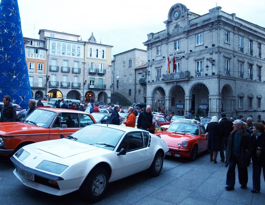 Rally Solidario Ourense Centro y Escudería de Clásicos 2015