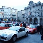 Solidaridad sobre ruedas en Ourense Centro
