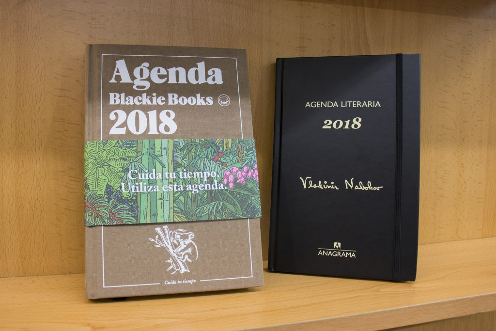 Agenda 2018 de Vladimir Nabokov