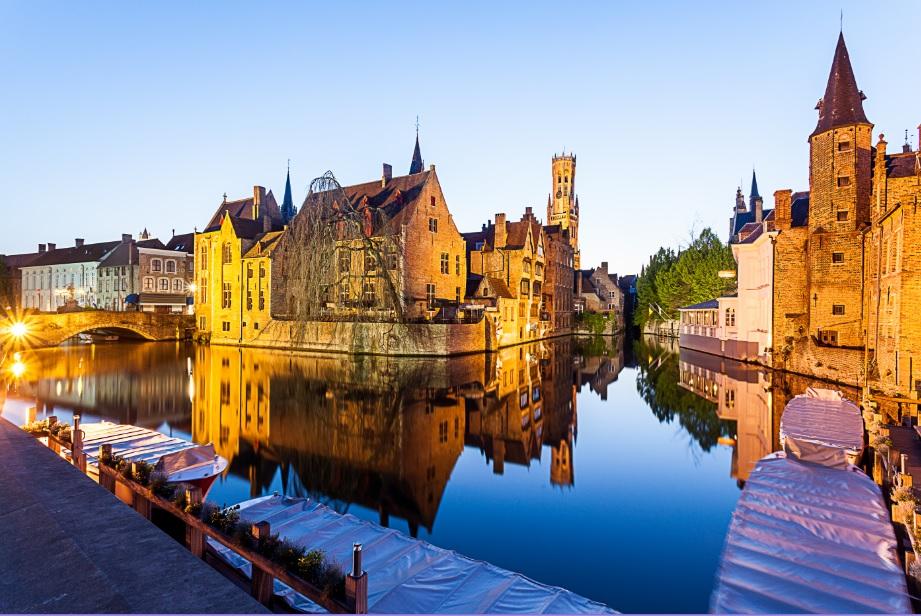 Vista de Flandes, Belgica.
