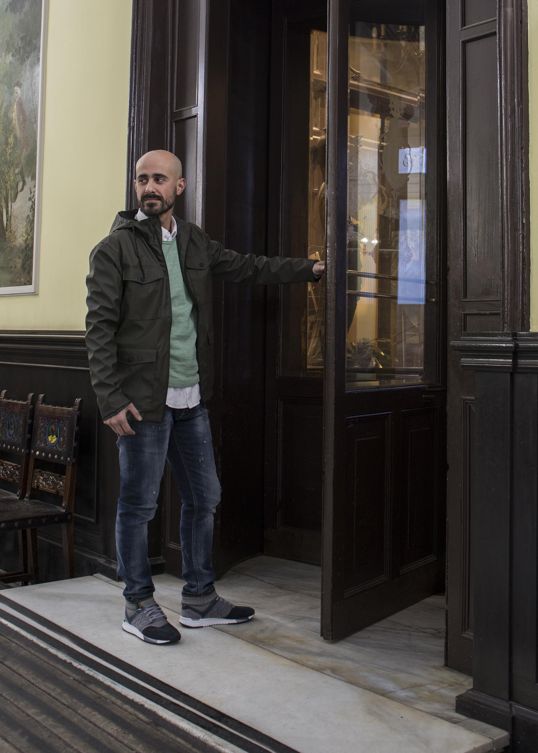 David look vaquero y jersey - REgalos día del Padreo Ourense 2018