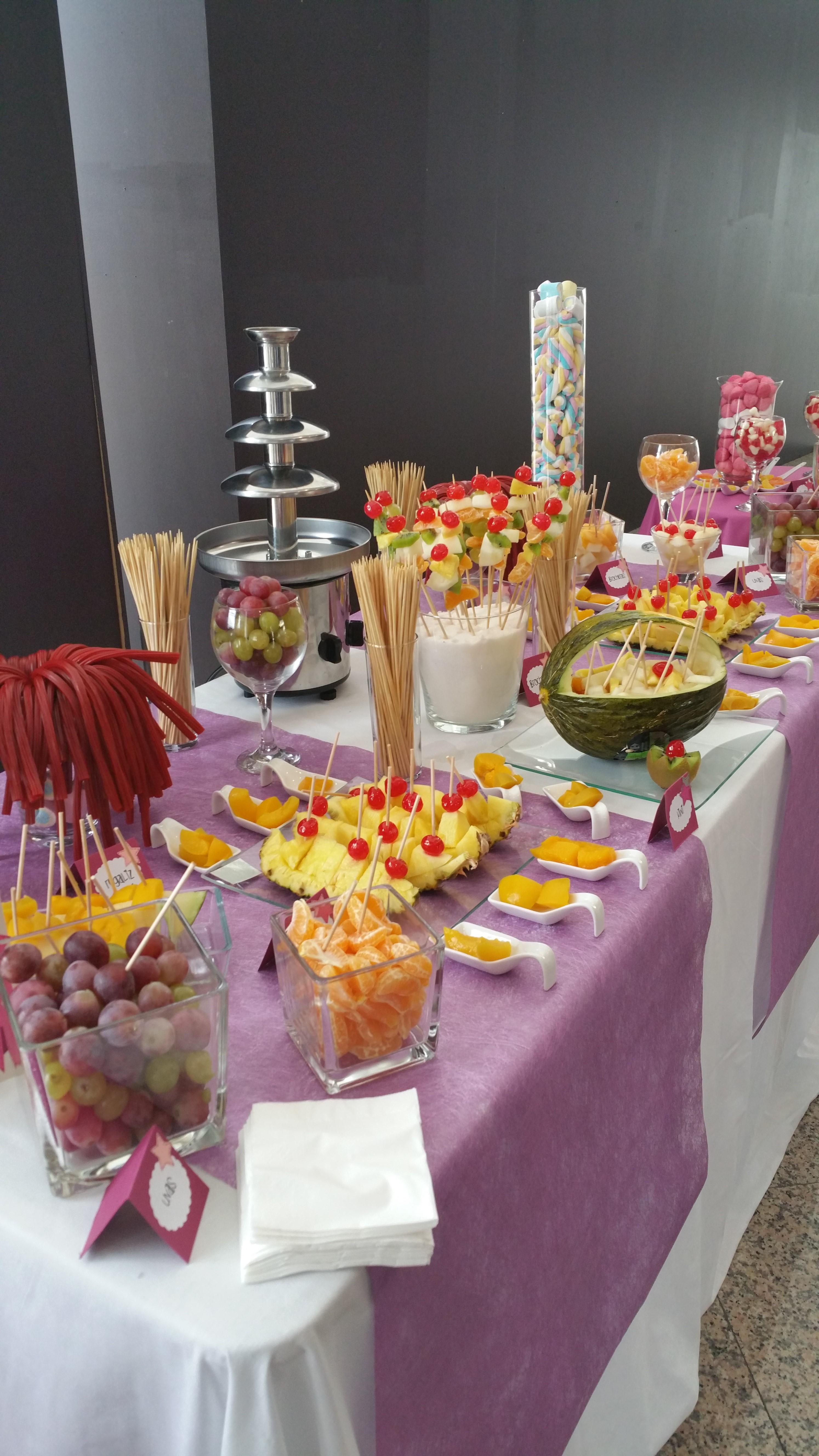 Event mesas dulces