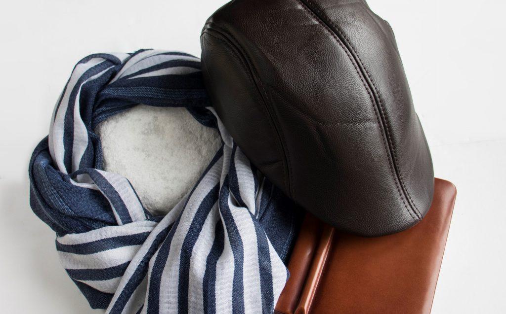 Boina y foulard de Anna