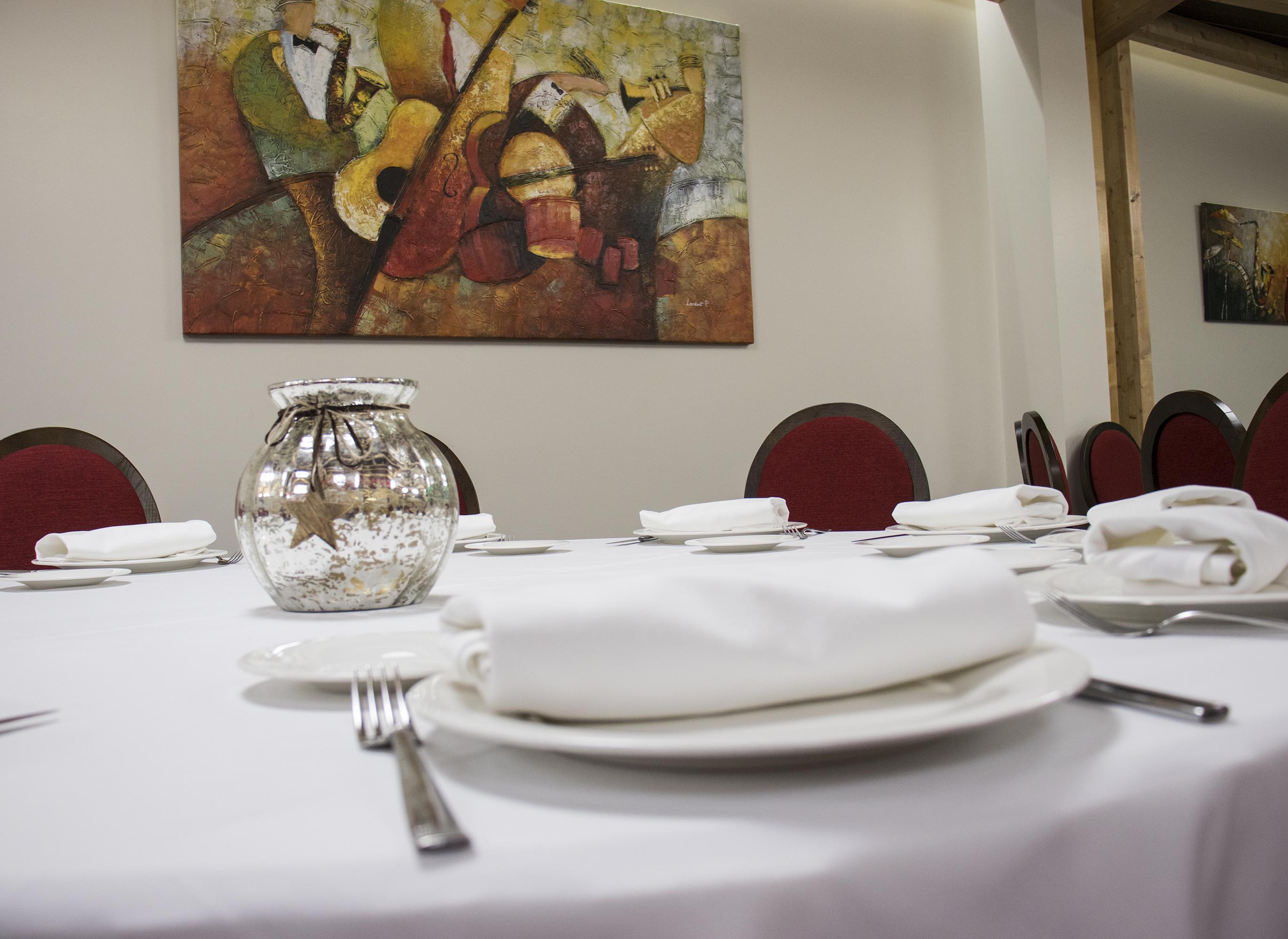 Restaurante El Coto - Salón de fiestas