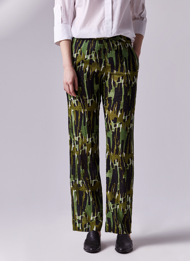 Pantalon estampado adolfo dominguez
