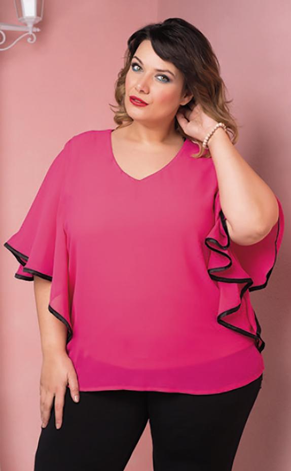 Komodamoda, blusa rosa