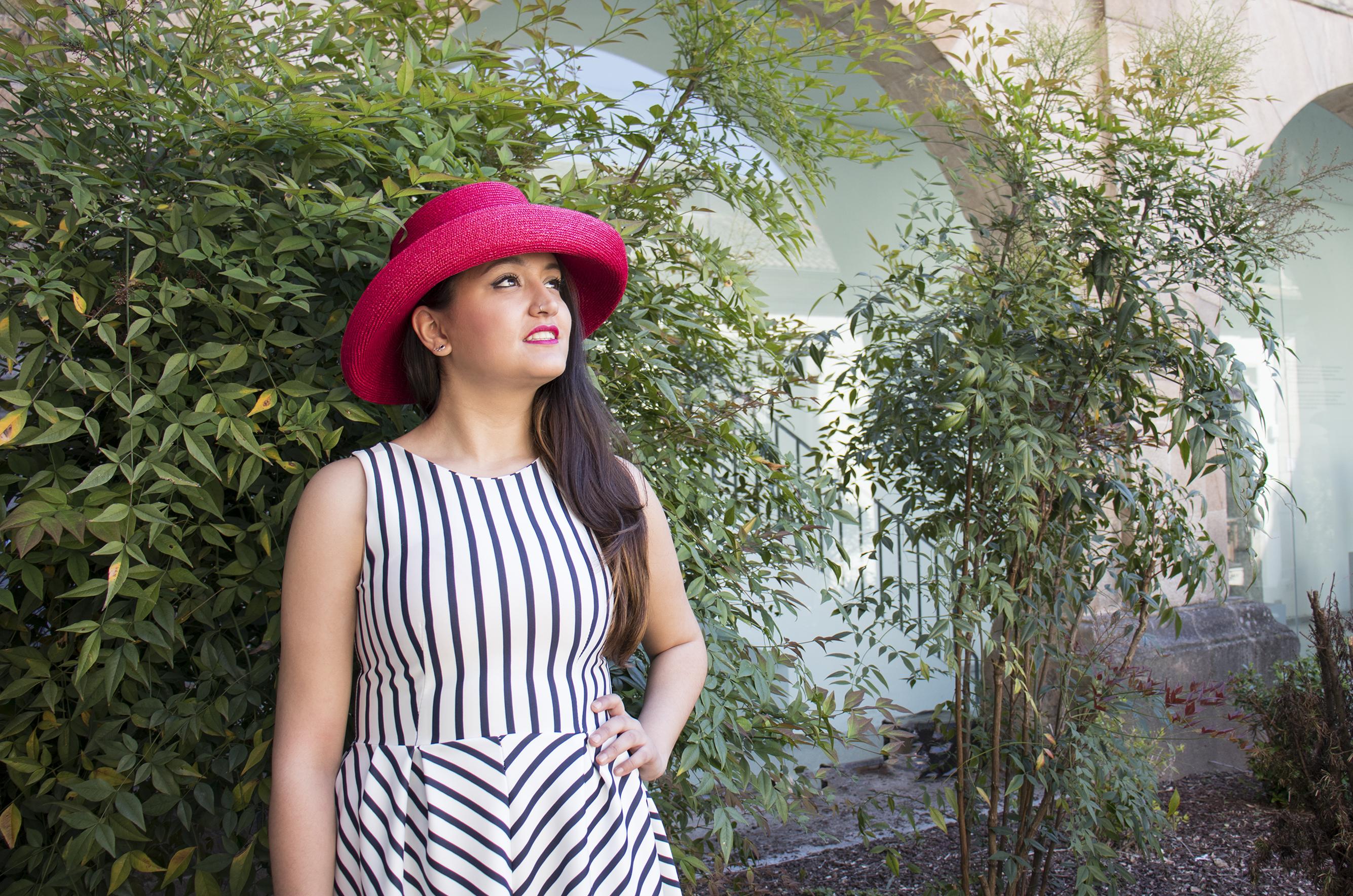 Sombreros La lucha, pamela fucsia
