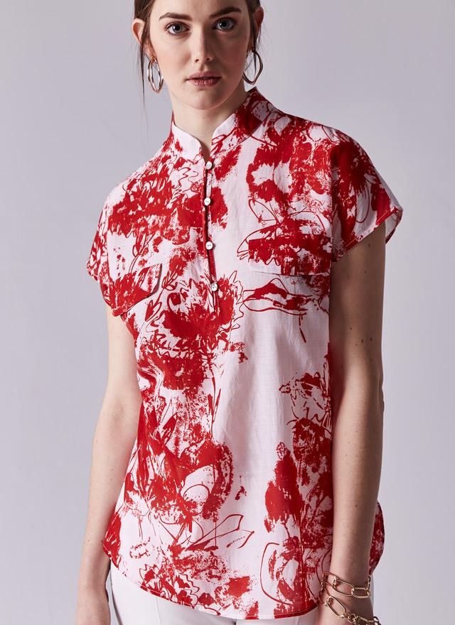 camisa cuello japones