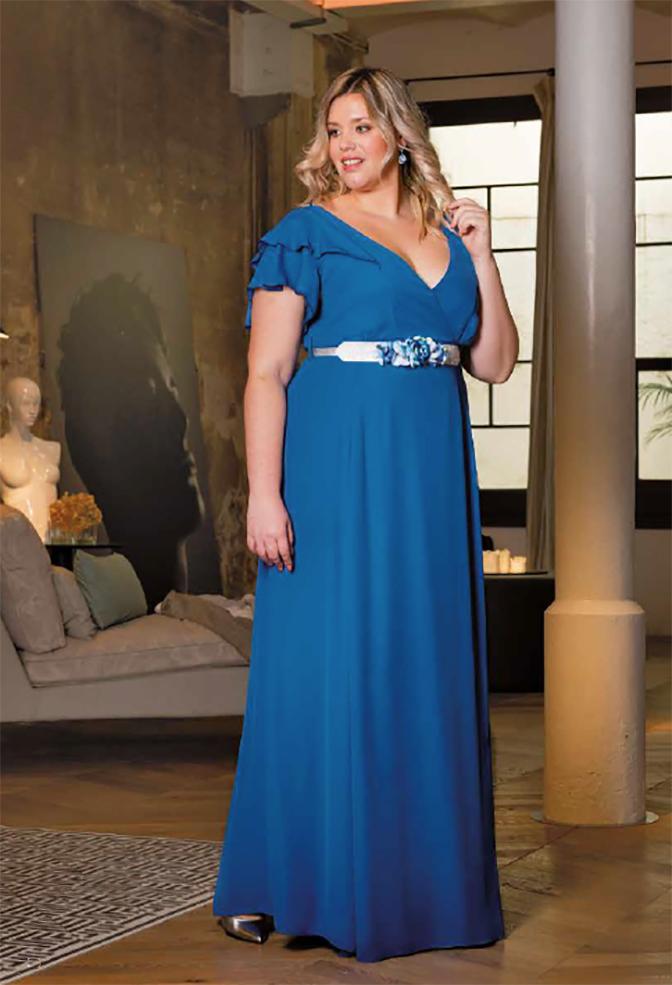 komodamoda, vestido azul