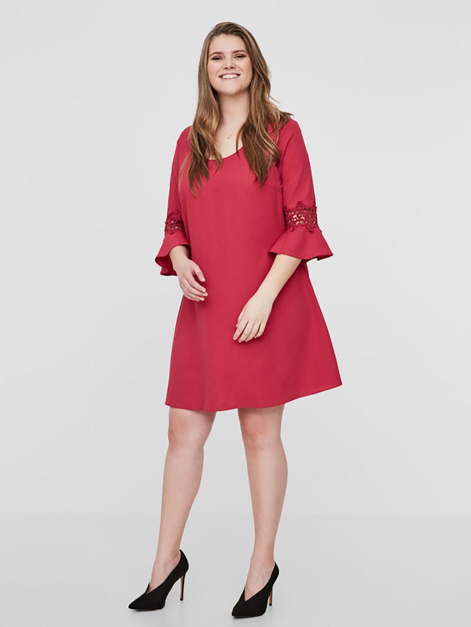 komodamoda, vestido rojo