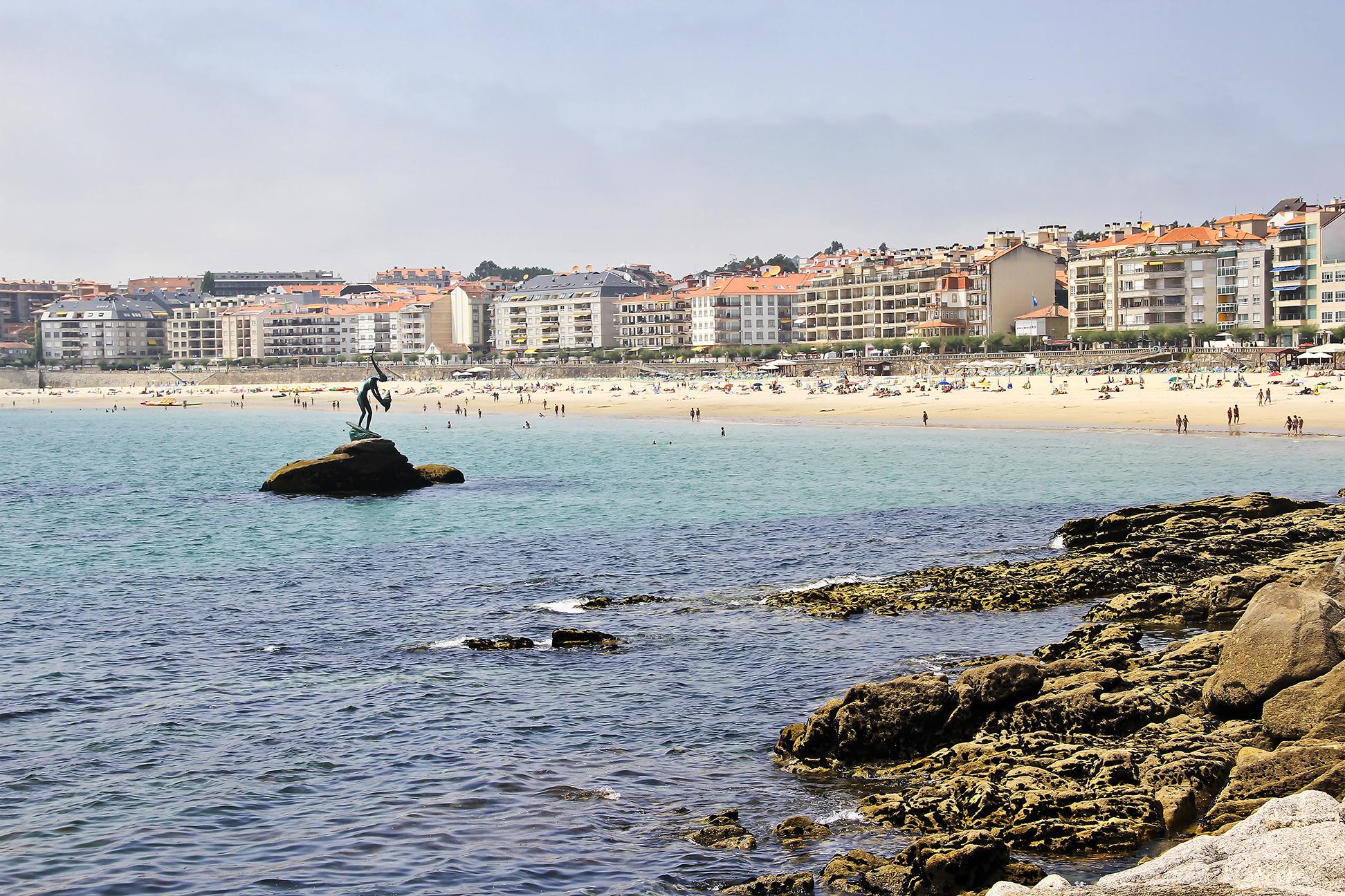 Praia Silgar, Sanxenxo