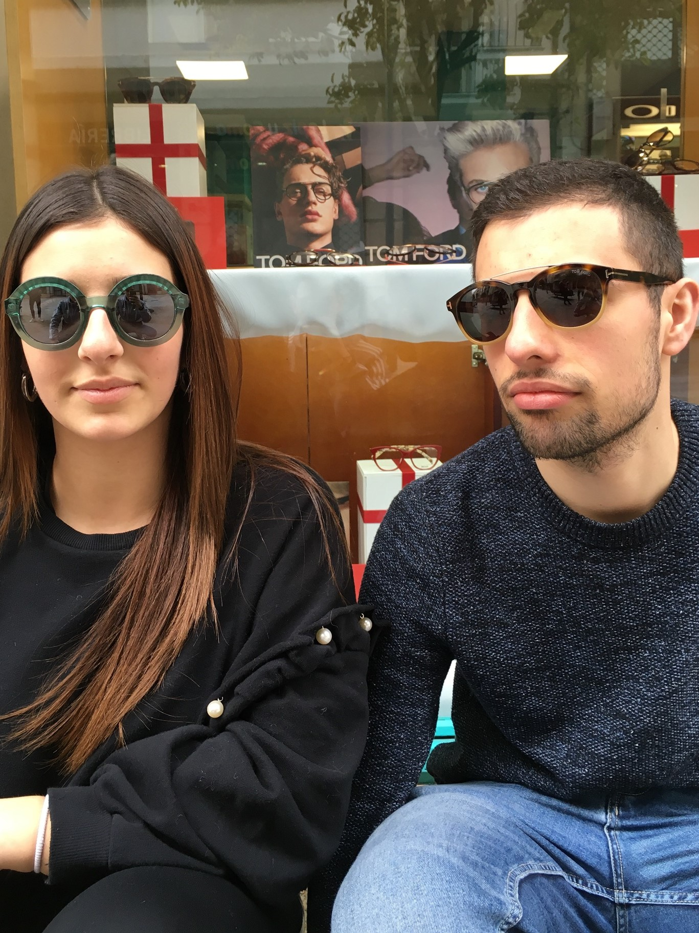 Gafas retro chico y chica - Centroptica Ourense