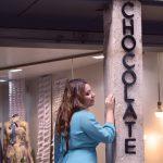 Chocolate: moda en el centro