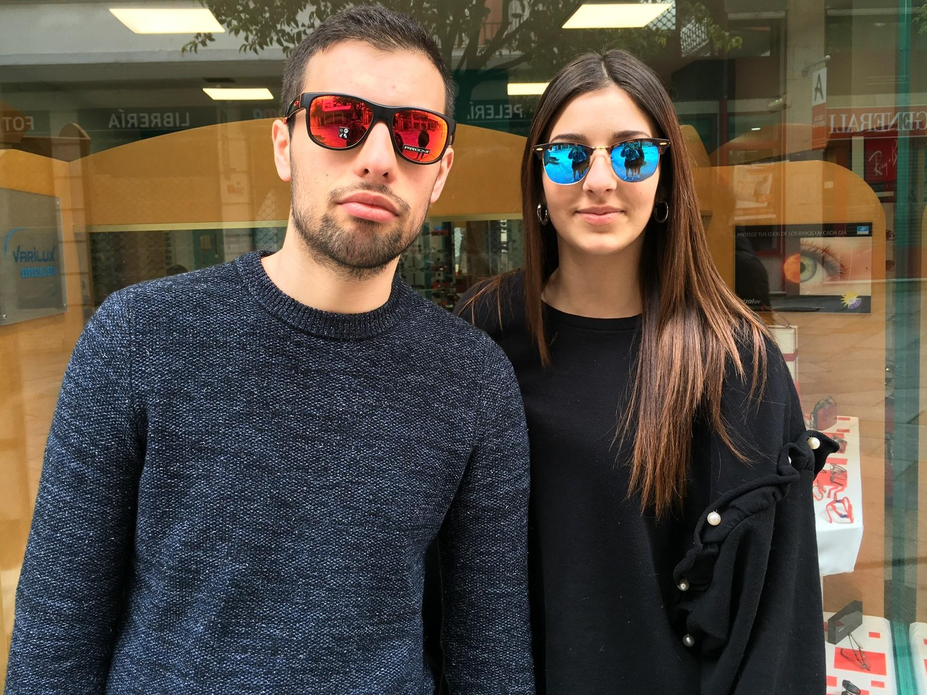 Gafas espejo Centroptica Ourense