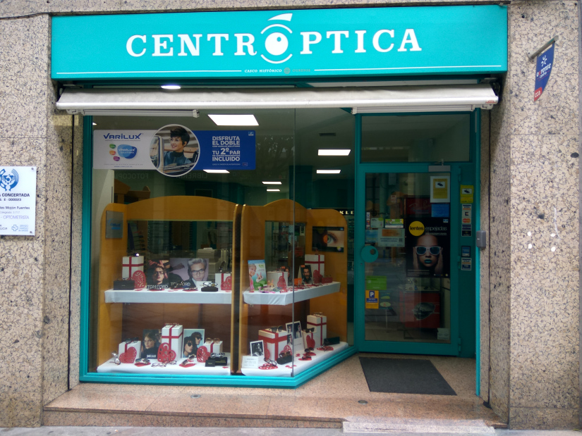 Escaparate Centroptica Ourense