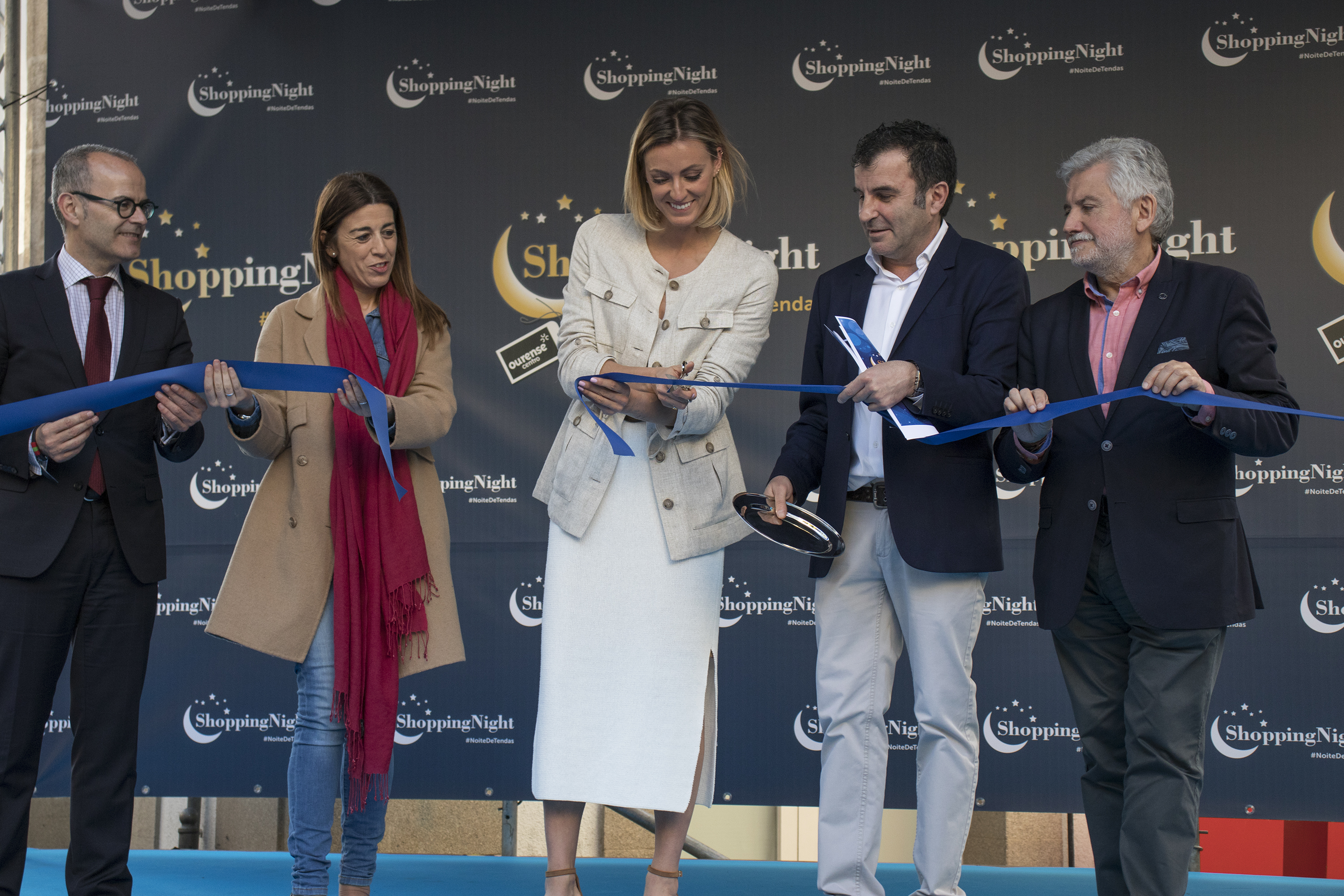 Inauguracion shopping night Cristina Bermudez